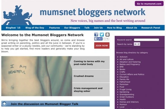 Mumsnet post natal