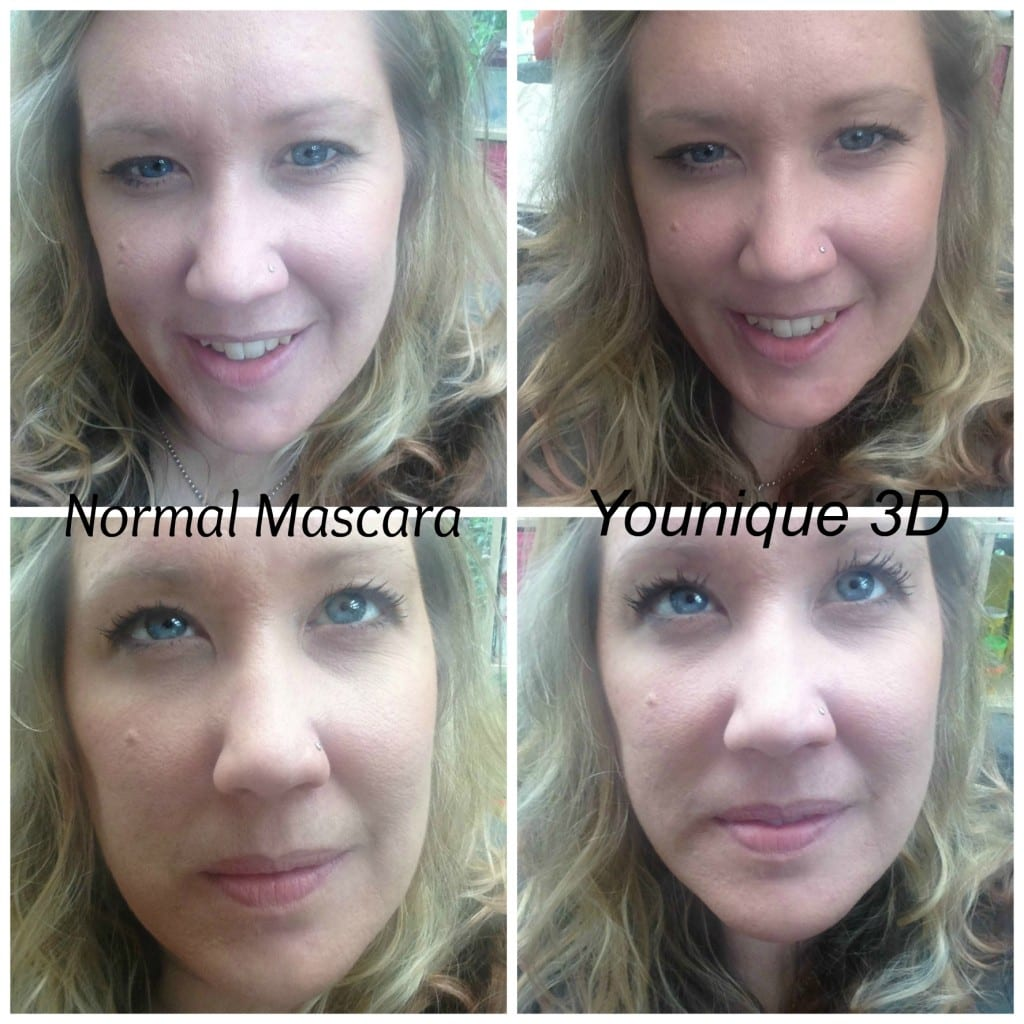 Younique side by side