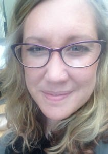 me younique with glasses