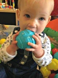 Aria at baby sensory