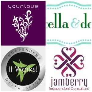 younique, jamberry, it works, stella and dot logos