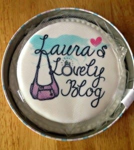 baker days cake in tin