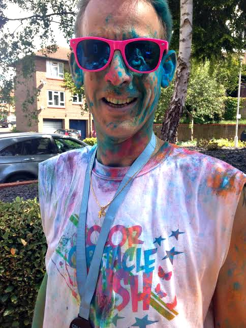 Ben colour rush close up