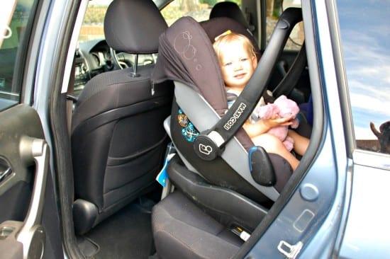 Aria in pebble newborn seat