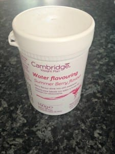 CWP water flavouring