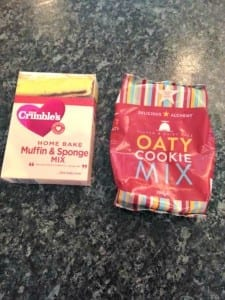 dairy free cake and cookie mix