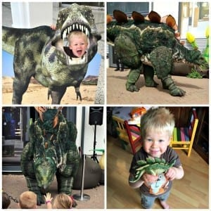 Logan and the dinosaurs