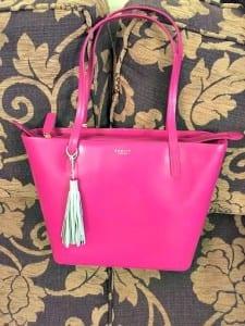 radley pink bag