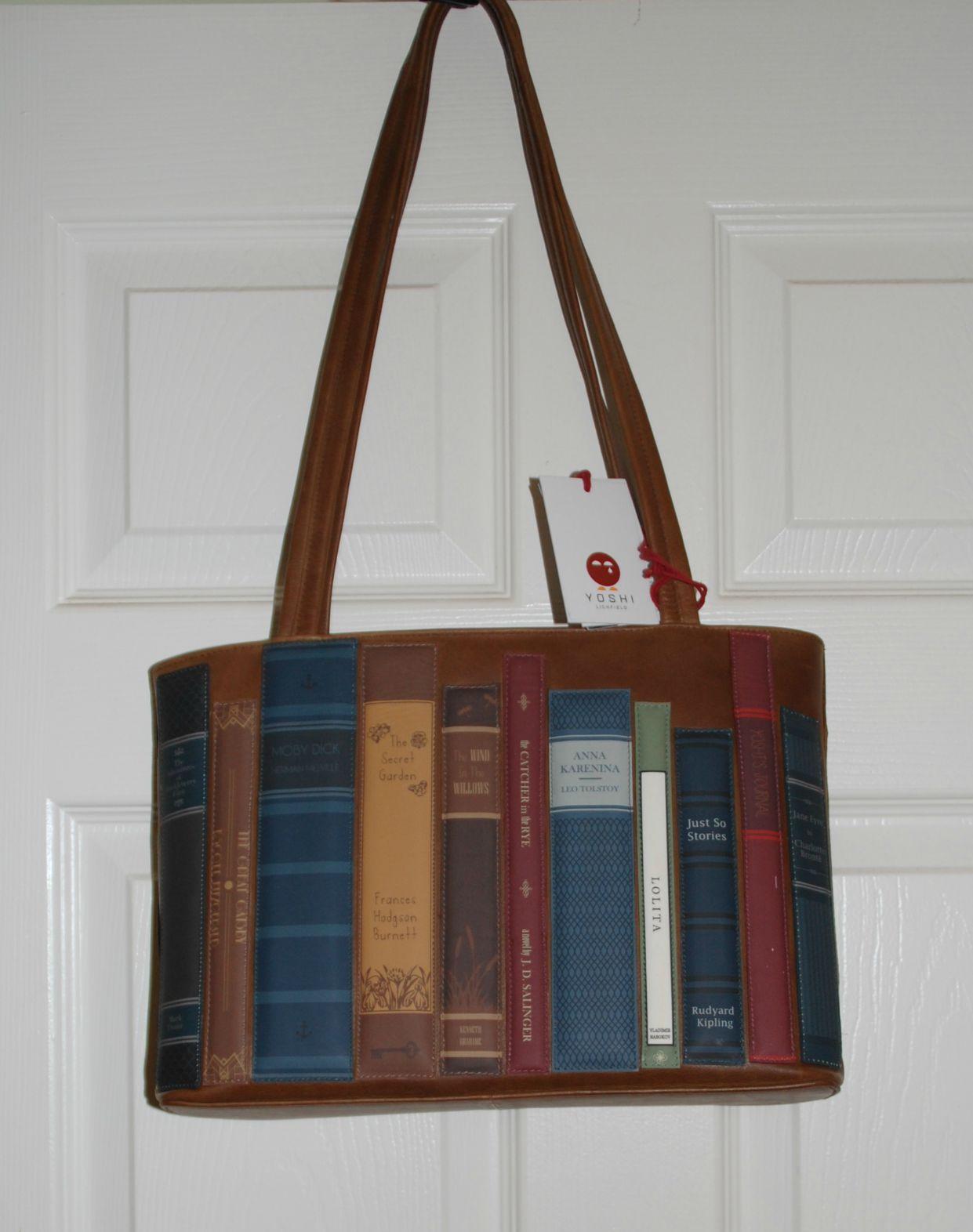 yoshi bookworm bag