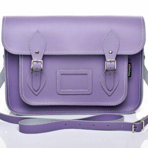 zatchels violet satchel