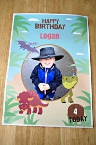 hello party personalised poster 2
