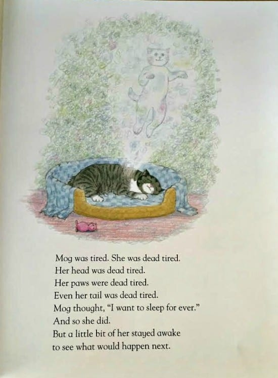 Goodbye Mog first page