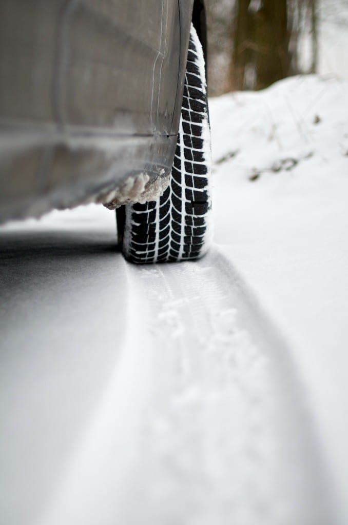 Tyres in snow