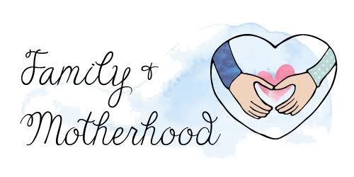 family and motherhood category button