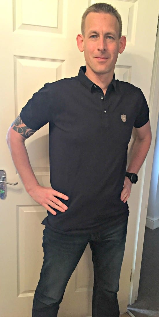 House of Fraser Police Navy polo shirt