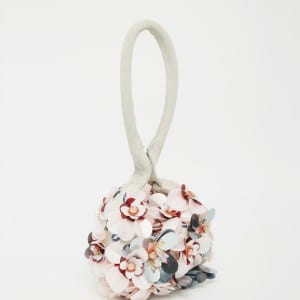 asos big flower clutch bag