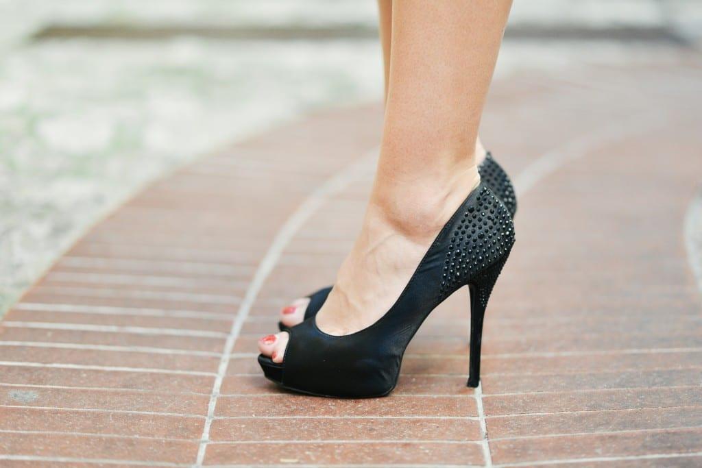 women high heels and work