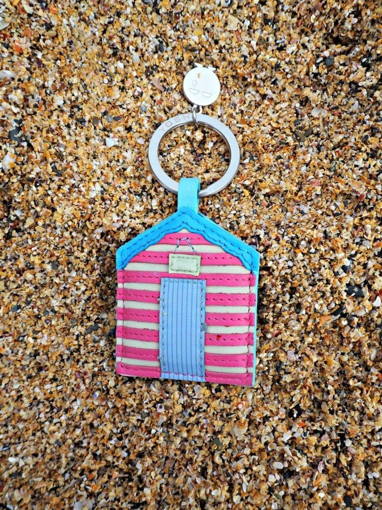 Yoshi Review - Beach Hut keyring