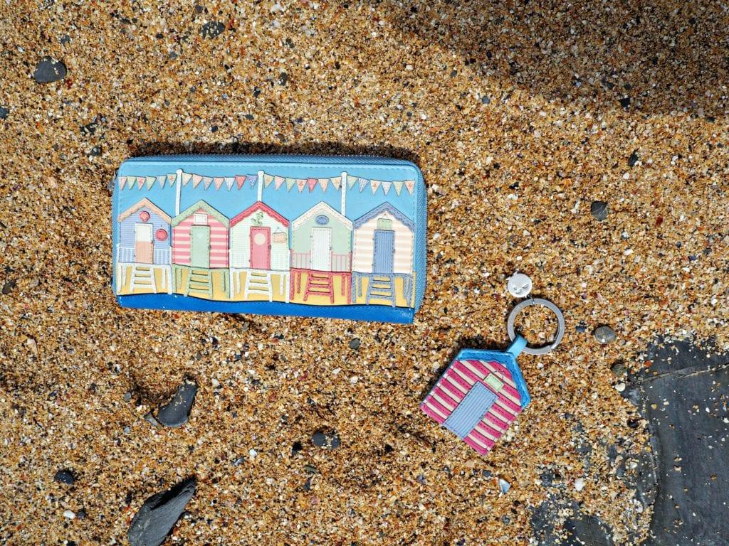 Yoshi Review - Beach Huts purse and keyring