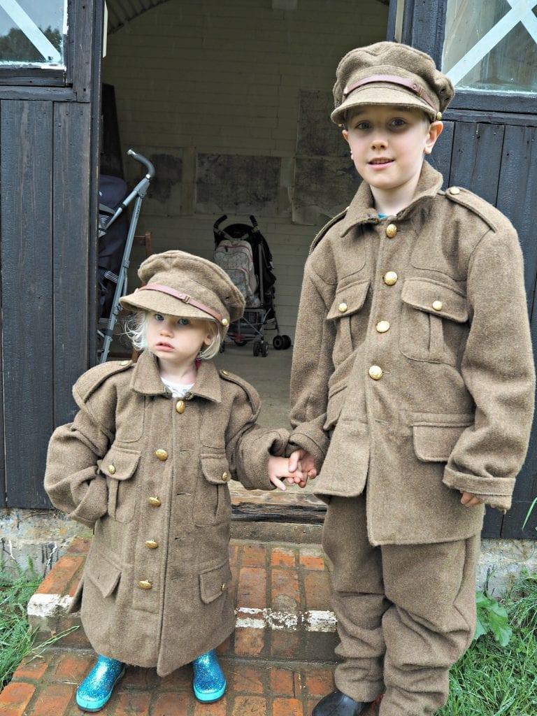 Aria-and-Adam-in-uniform