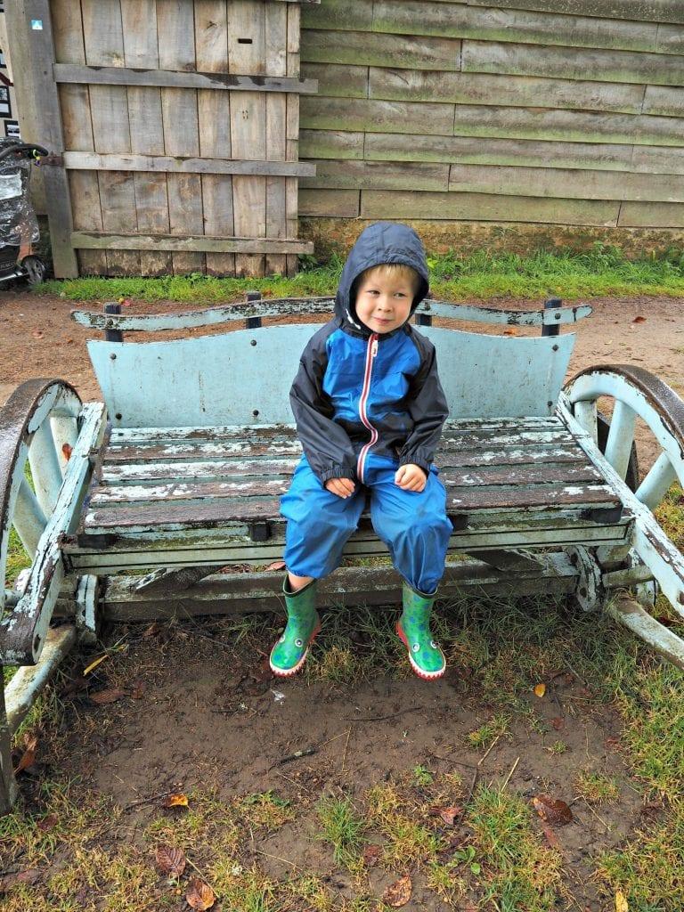 Logan-on-a-bench