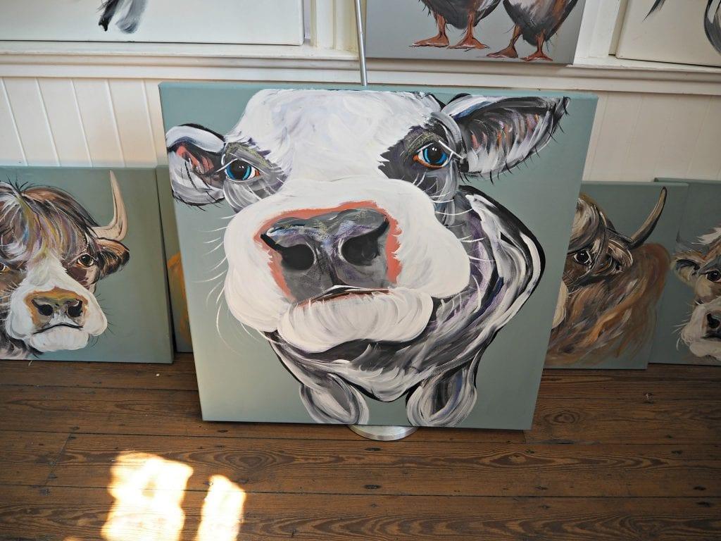 Caroline-Walker-green-cow
