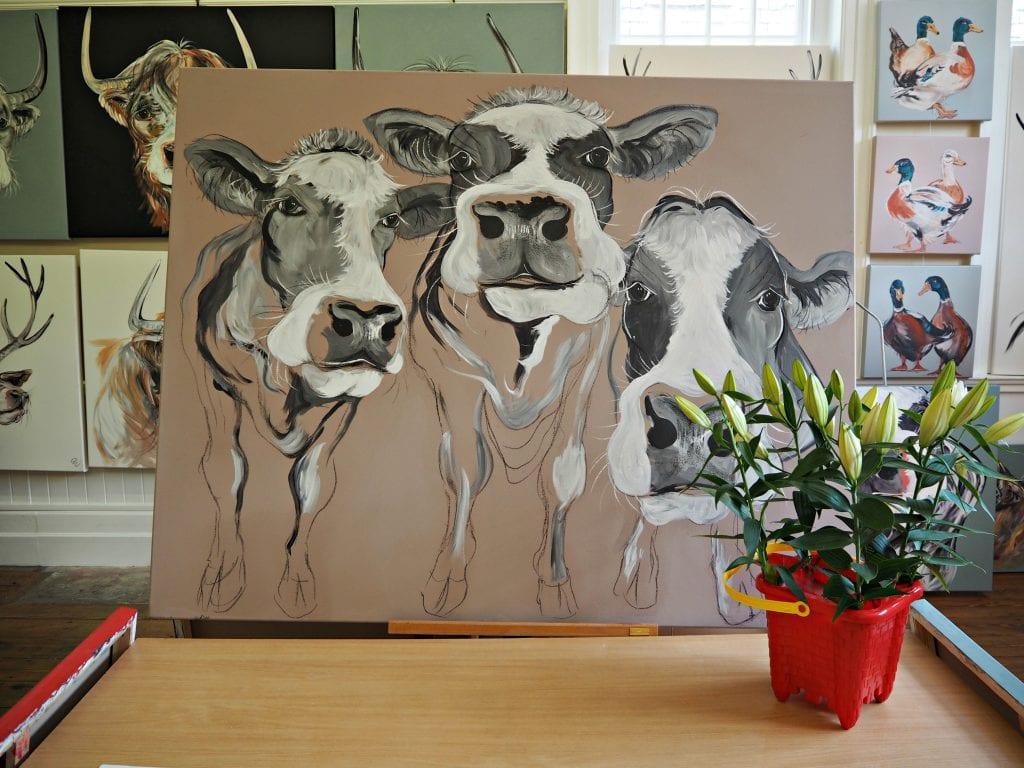 Caroline-Walker-trio-of-cows