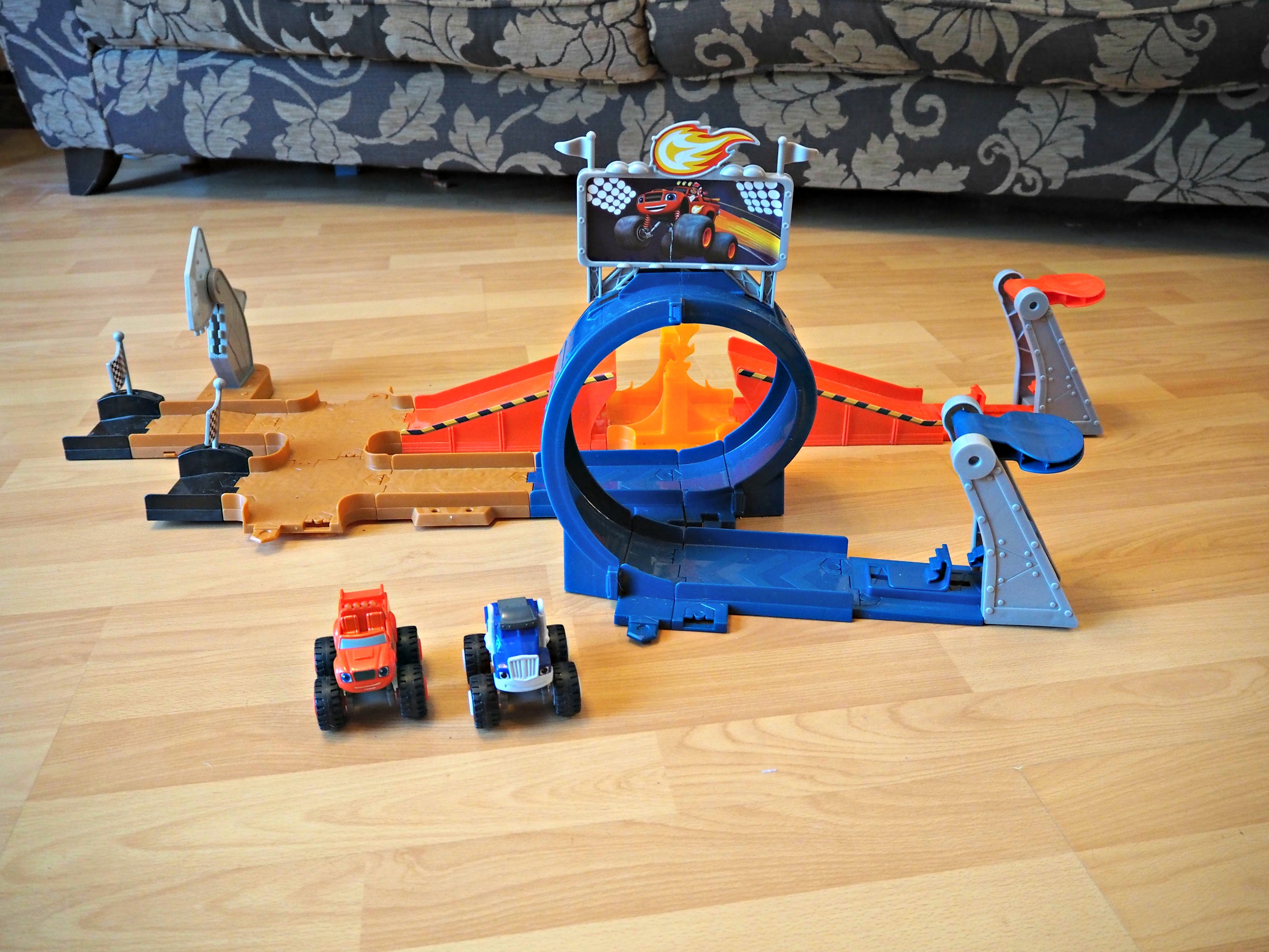 BEN'S ZONE: Fisher Price Blaze Monster Dome Review - Laura ...