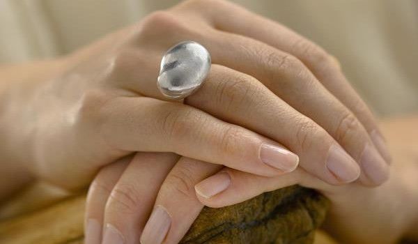 Made to last - Sterling-Silver-Broad-Bean-Ring