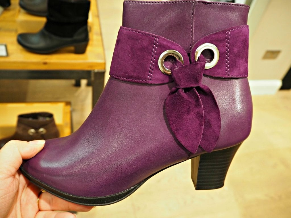 hotter purple boots