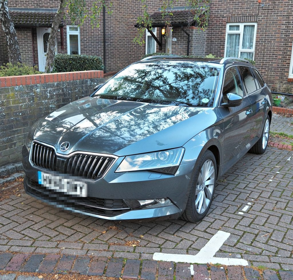 New Skoda Superb Estate Car