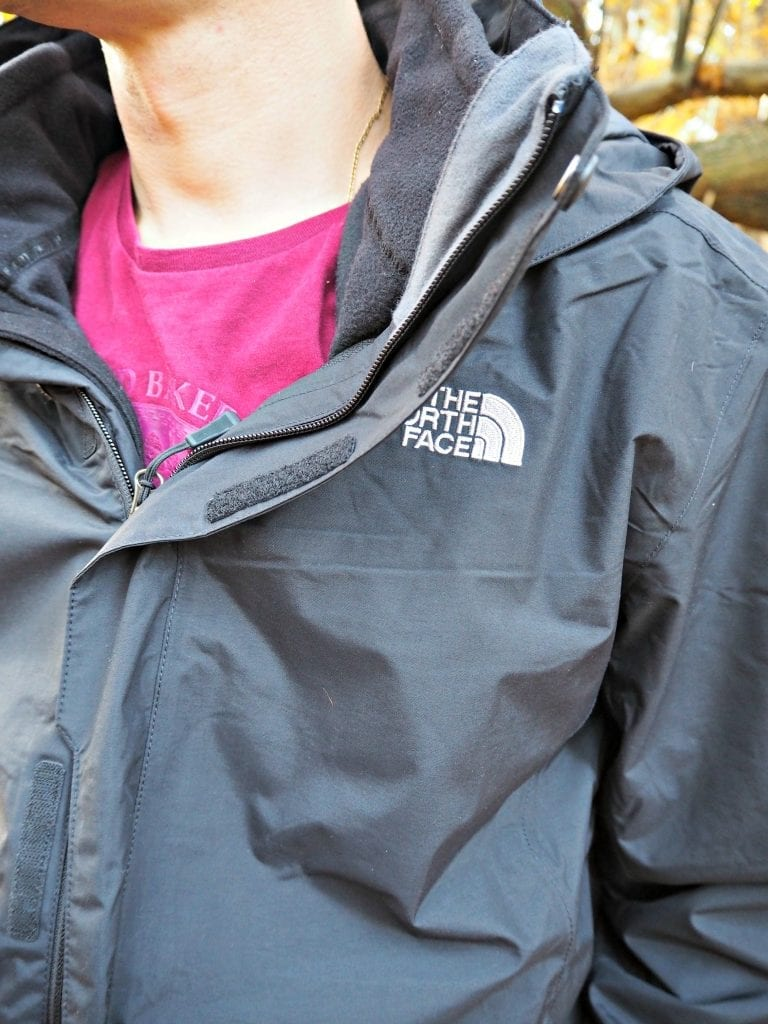 The North Face Evolution II Triclimate 3 in 1 Jacket-front-close-up