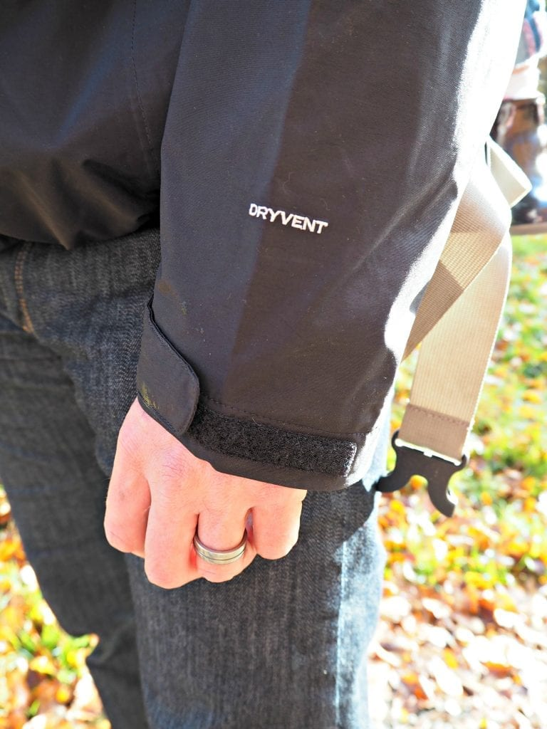 North-Face-Evolution-II-Triclimate-3-in-1-review-sleeve-close-up