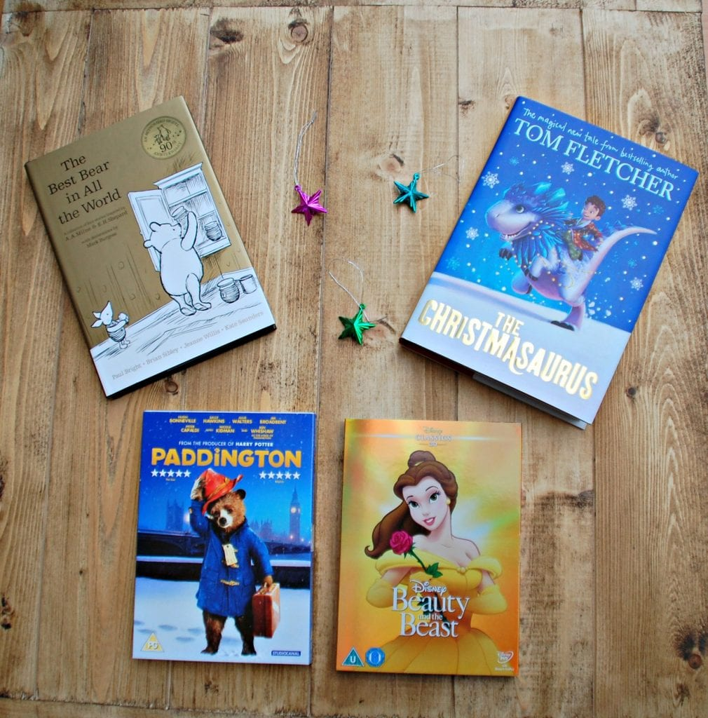 Christmas Eve Box with Tesco - books and DVDs