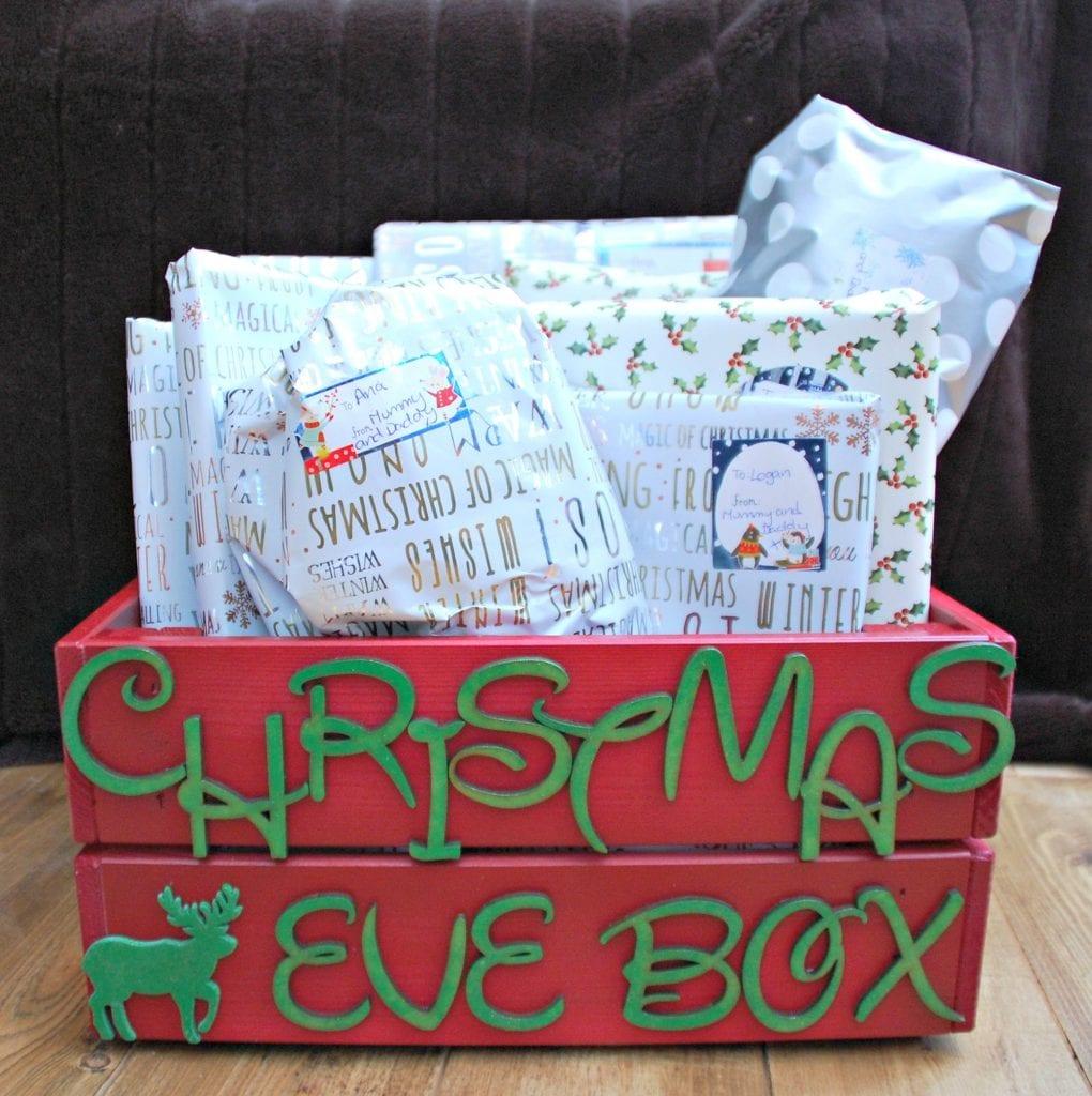 Christmas Eve Box with Tescos
