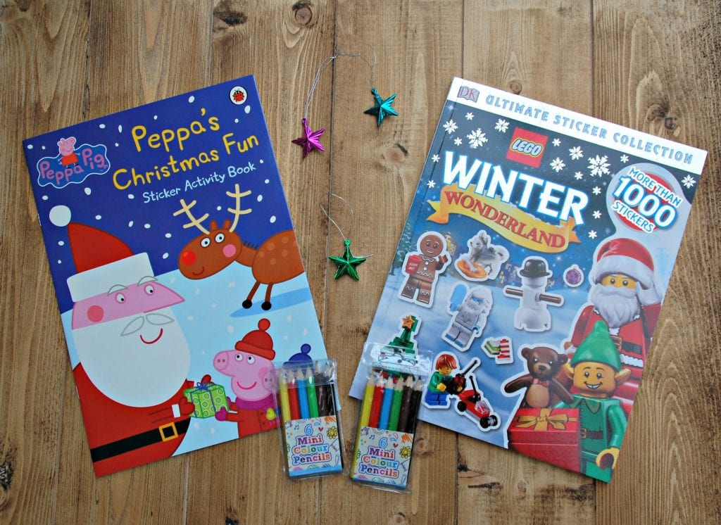 Christmas Eve box with Tescos - Activities books