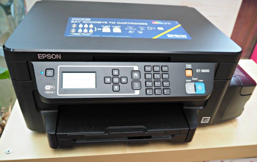 Epson EcoTank ET3600 Review