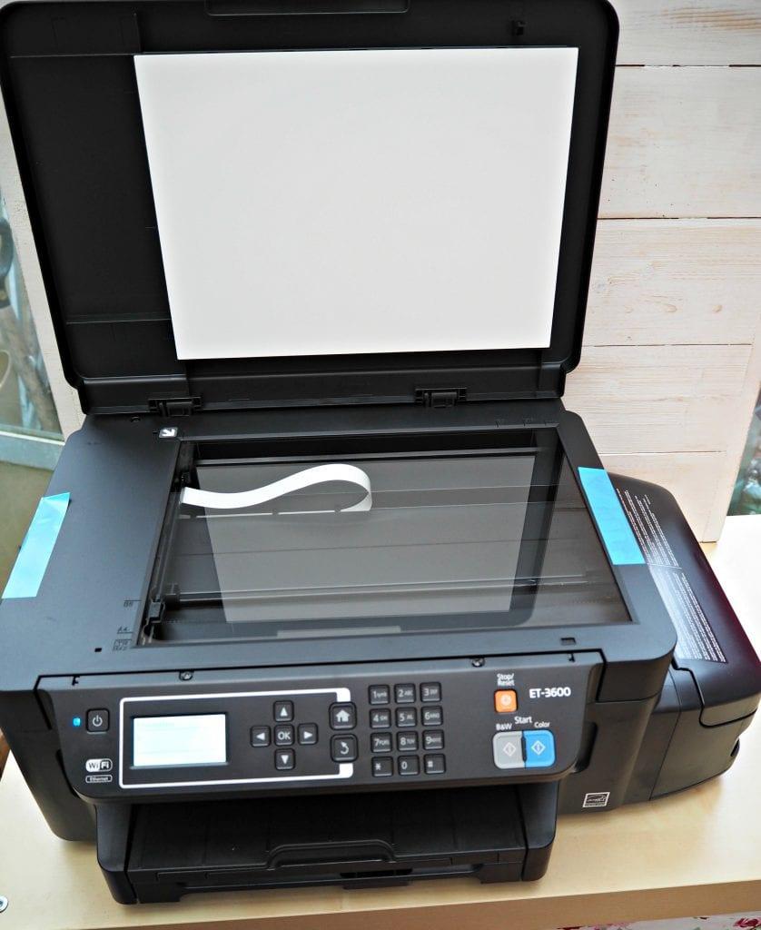 Epson EcoTank ET3600 review photocopy function