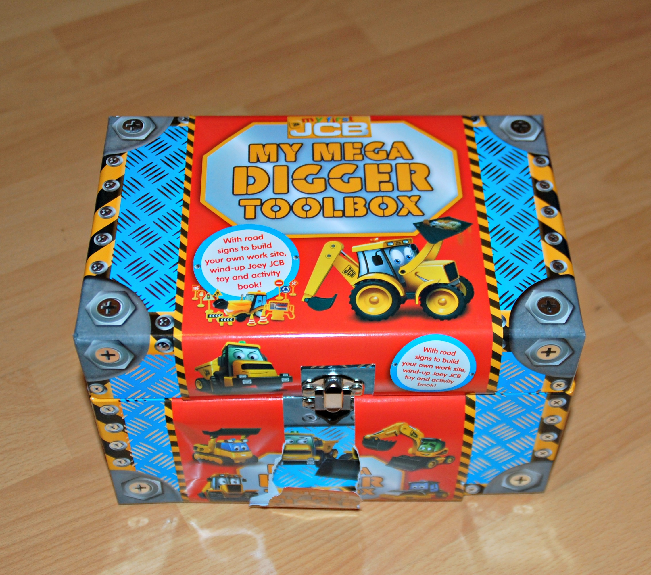 JCB Kids My Mega Digger Toolbox