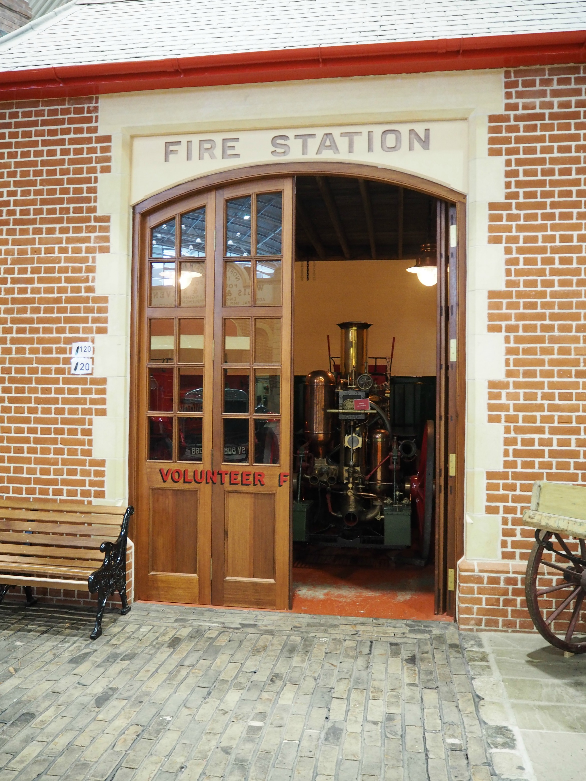 Milestone Museum Review fire station