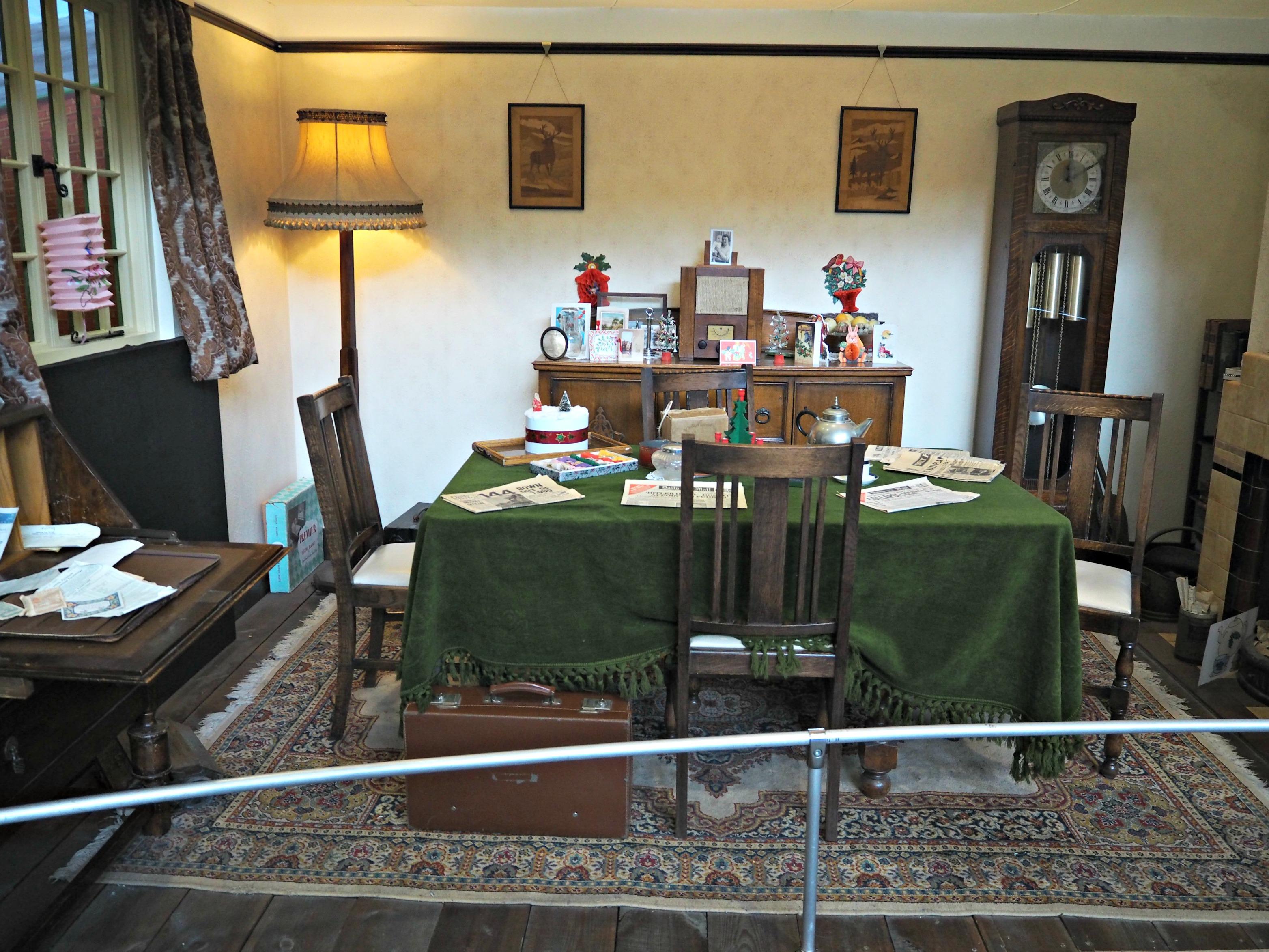 Milestones Museum Review 1940s room