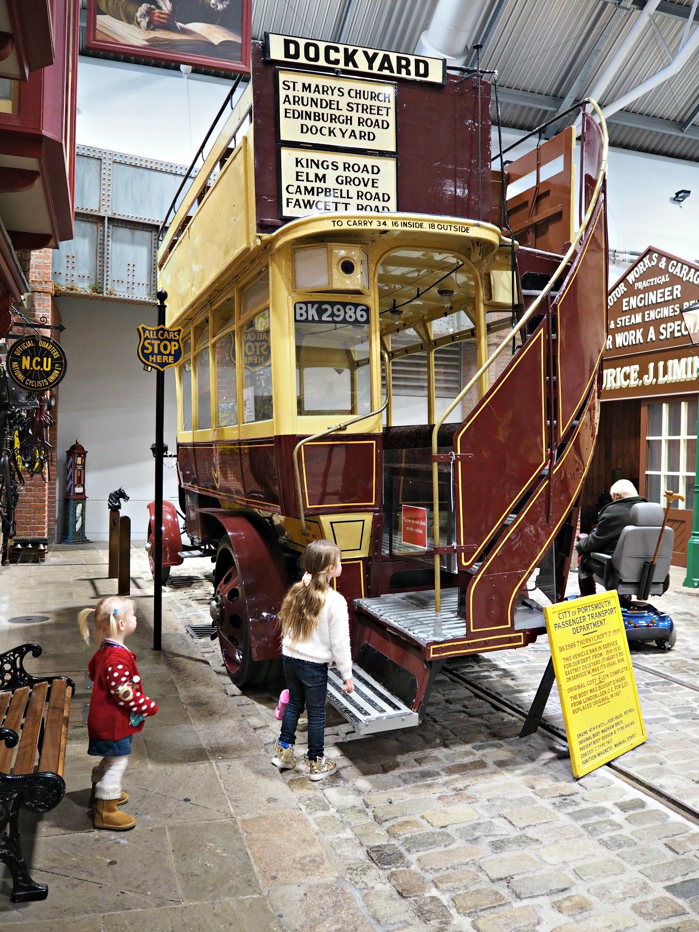 Milestones Museum tram