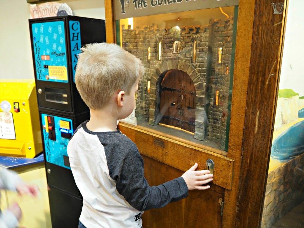 Milestones Museum Review - Logan and the guillotine