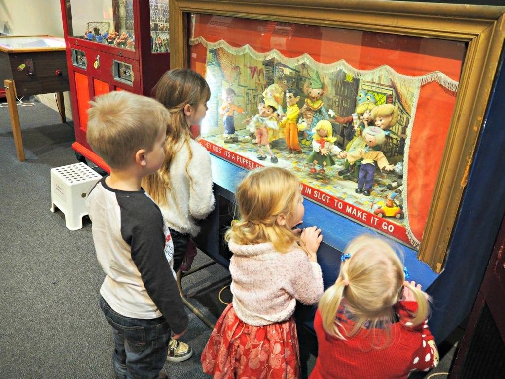 Milestones Museum Review - puppet arcade