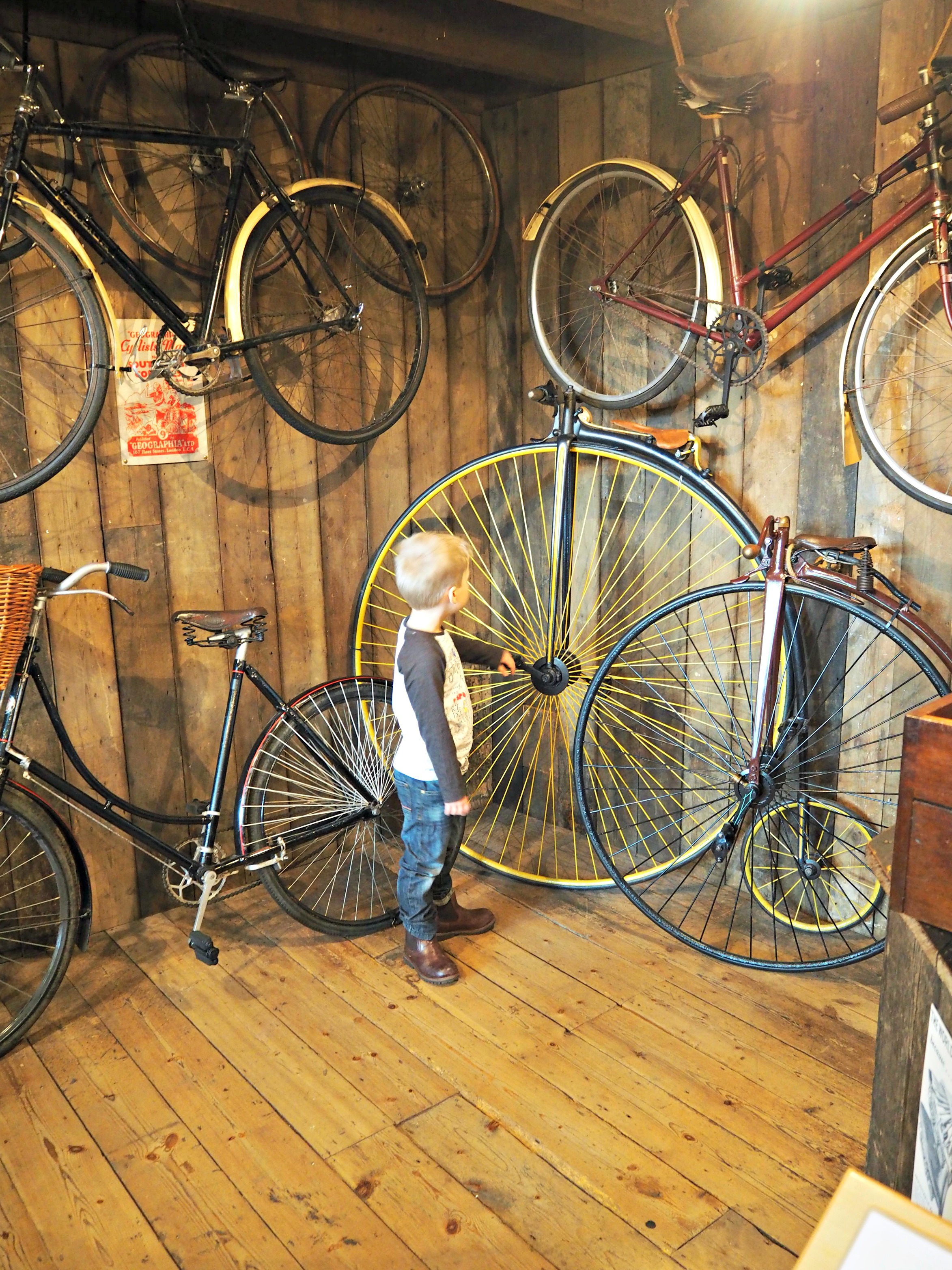 Milestones Museum Review cycling
