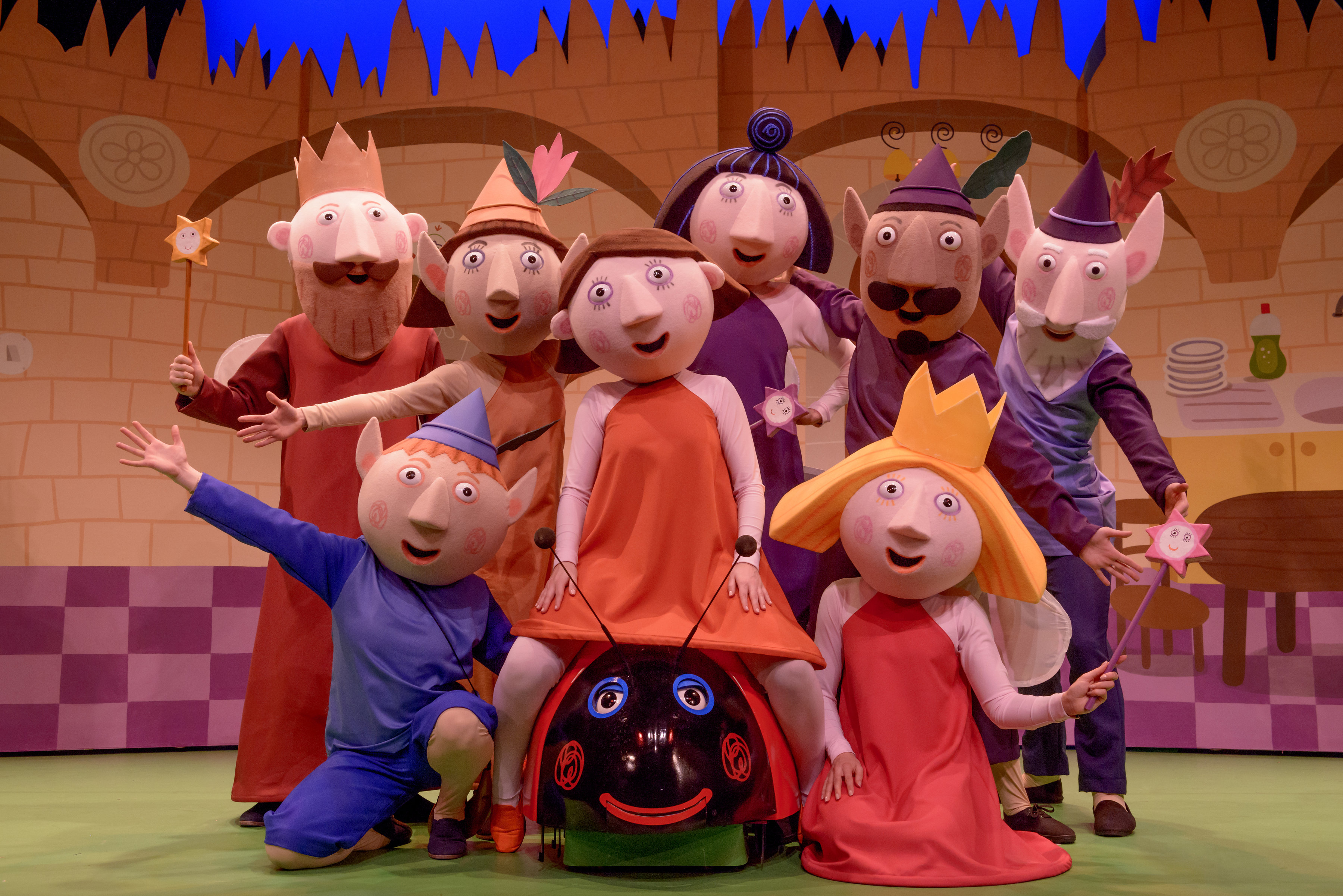Win a Family Ticket with Meet & Greet to see Ben and Holly Little Kingdom Live