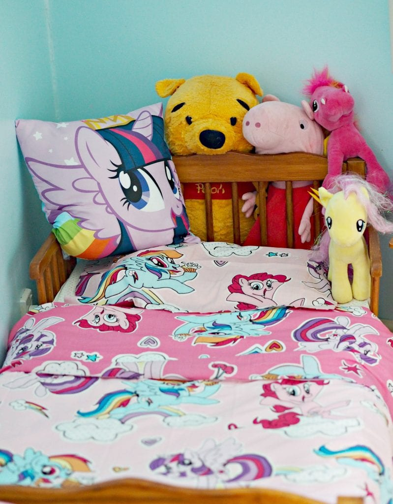 review: character world my little pony bedding - laura's