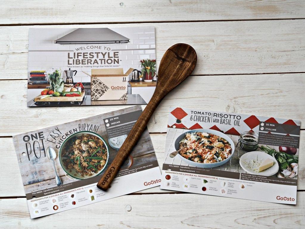 Gousto Meal Box Kit Review