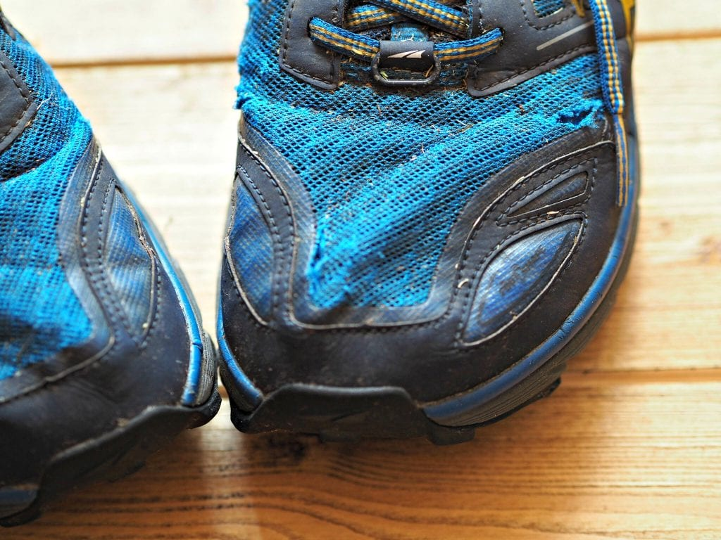 Altra Lone Peak 3.0 Review - wear and tear 1