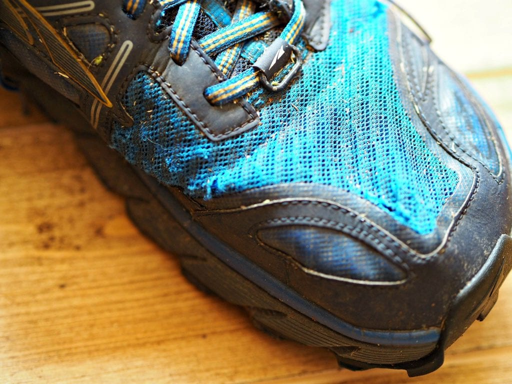 Altra Lone Peak 3.0 Review - wear and tear 2